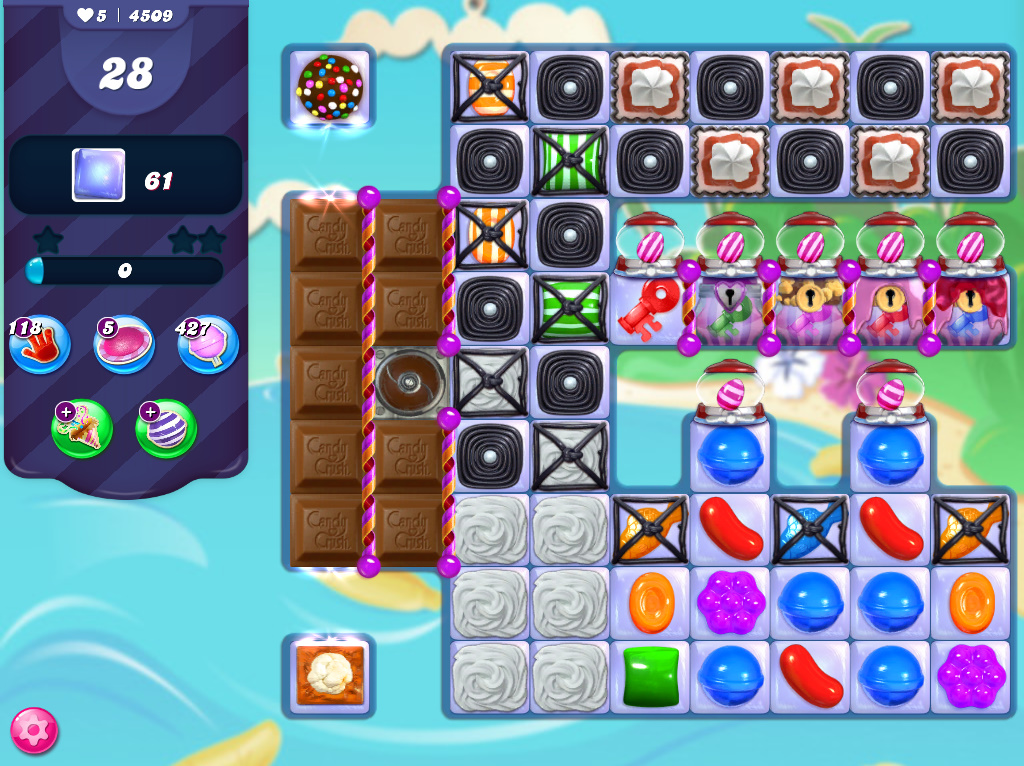 Candy Crush Saga level 4509