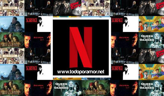 Peliculas para parejas en Netflix