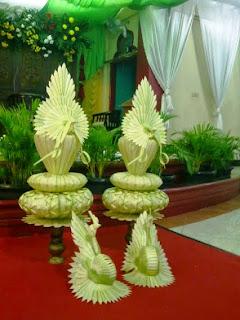 dekorasi kembang mayang