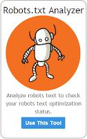 Robots.txt analyzer