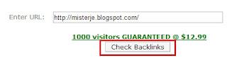 Cara Mengatahui Jumlah dan Alamat URL Backlink di Blog