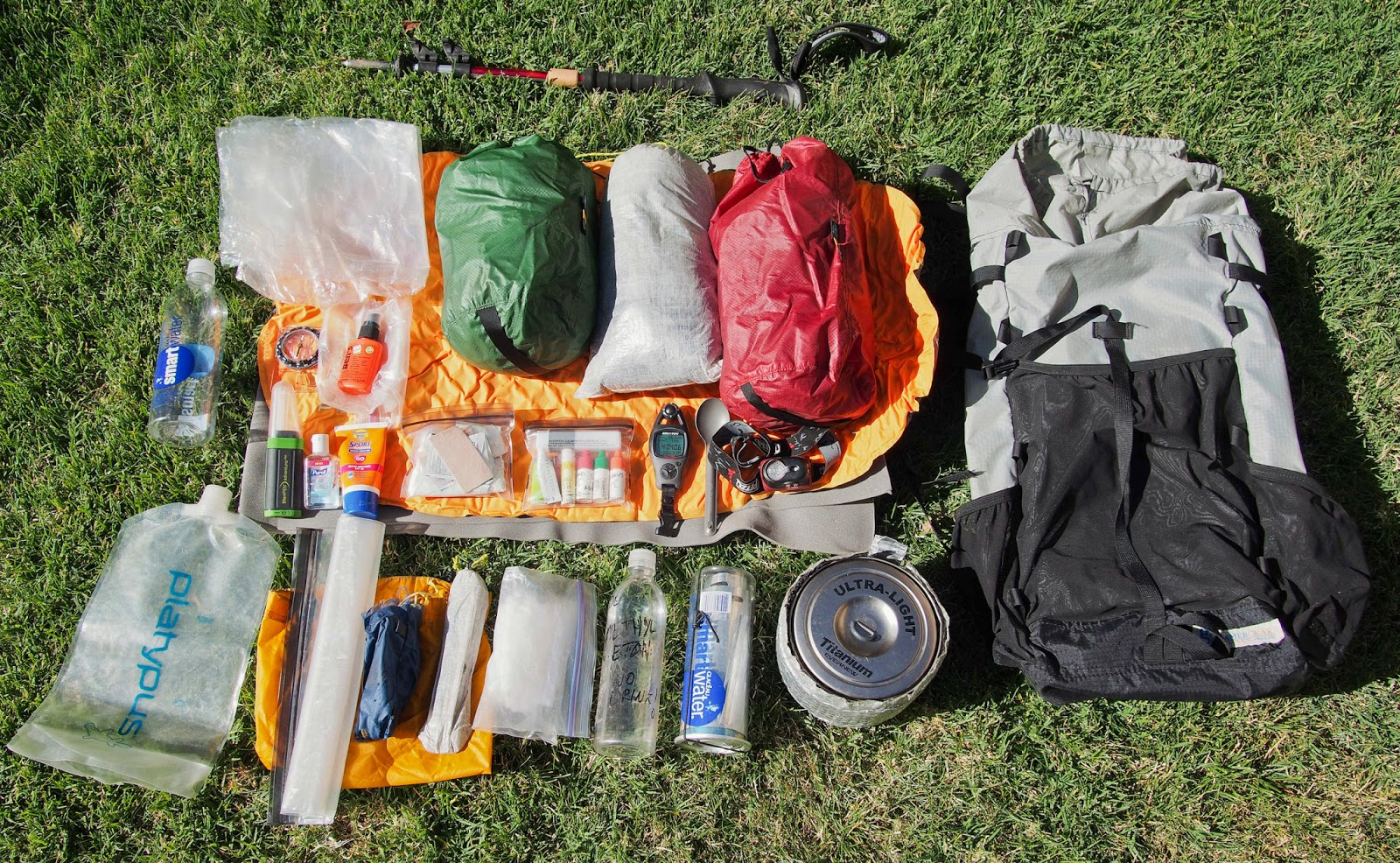 Dances With Angiosperms Backpacking Gear