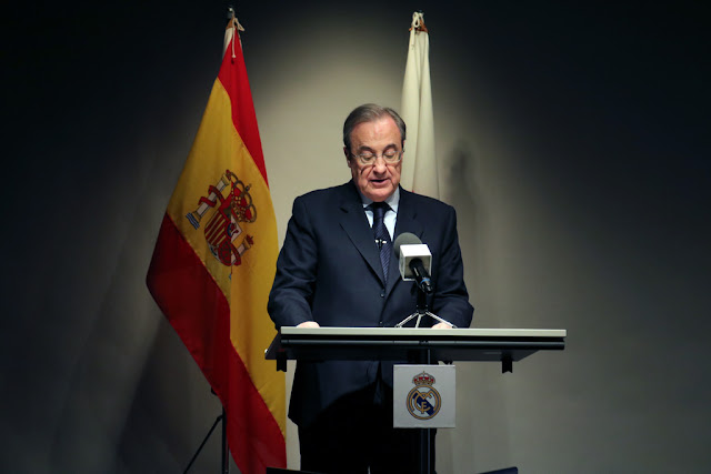 Who is responsible for the disastrous results of Real Madrid