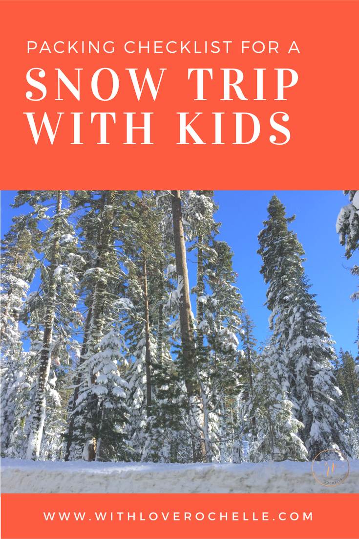 Taking a snow trip with the kids? Be prepared with this packing list. Plus, things to do in Lake Tahoe.