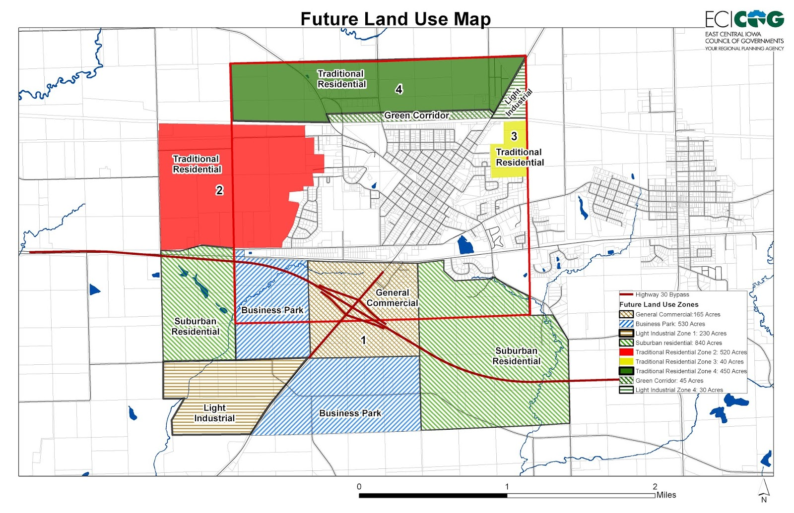 future land use map including areas to be annexed cityofmtvernon ia gov