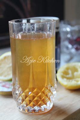Jus Lemon dan Madu Lebah