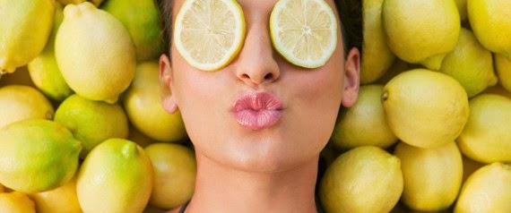 tips dan cara memutihkan kulit secara alami dengan lemon