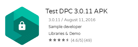 test dpc app