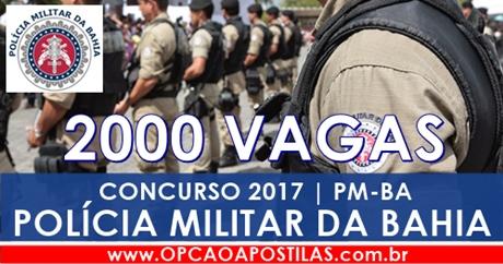 Apostila Polícia Militar da Bahia 2017