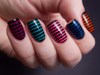 Uñas con stripes
