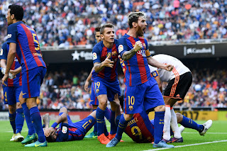 barcelona vs psg 2017 results
