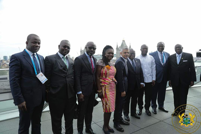 GUBA Enterprise Facilitates London-Accra Twinning Meeting Between President of Ghana and Mayor of London