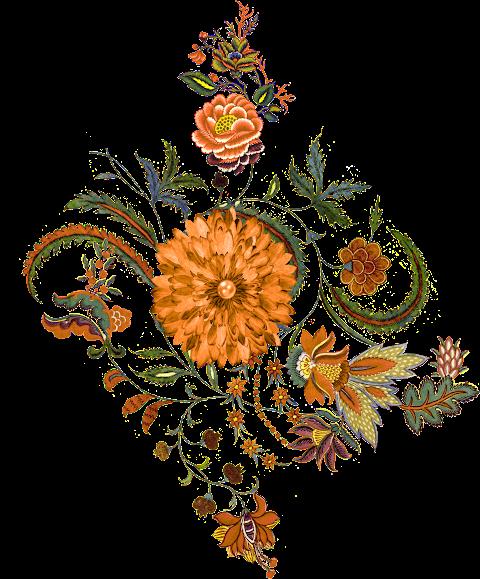 Vector Flower Design 2305