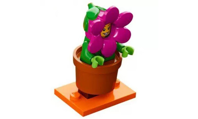 Lego Collectible Minifigures Series 18: Flower Pot Character
