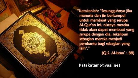 Kata Kata Motivasi Hidup Tentang Ayat-Ayat Suci Allah Swt Dalam Al-Quran