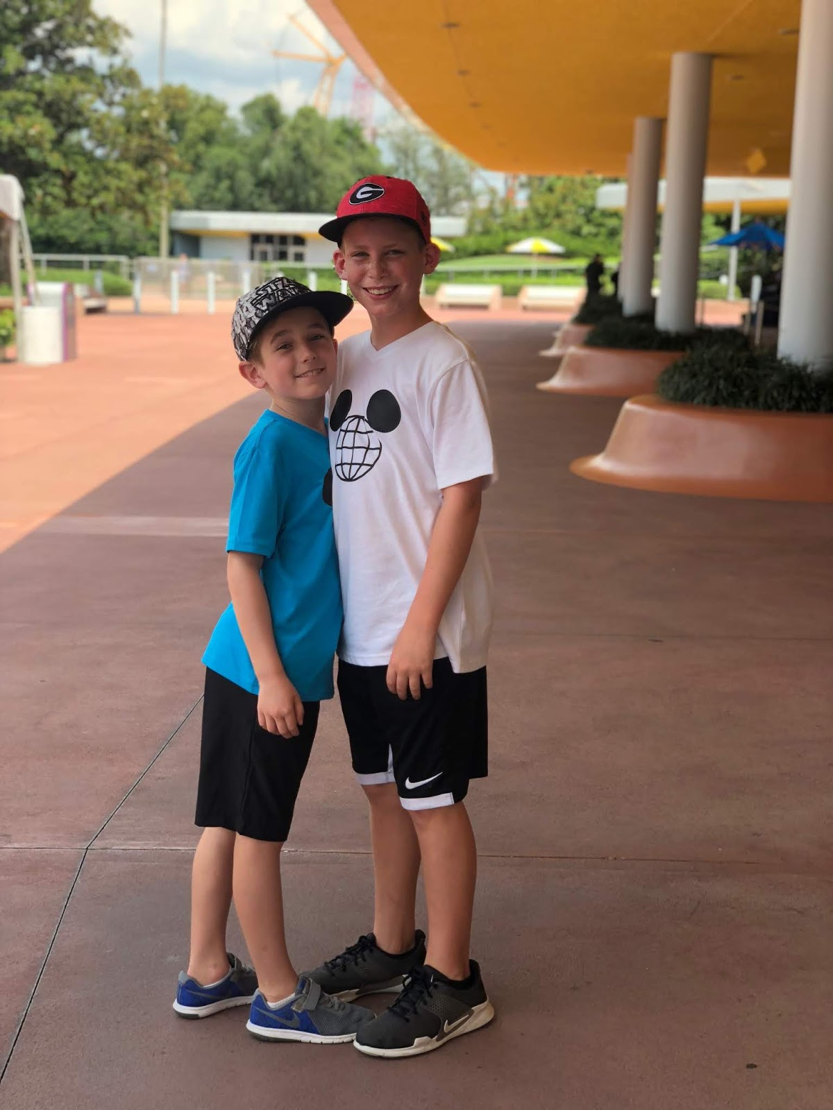 Mommy Solo Week: Epcot Evening