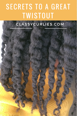 secrets to a great twistout on natural hair - ClassyCurlies