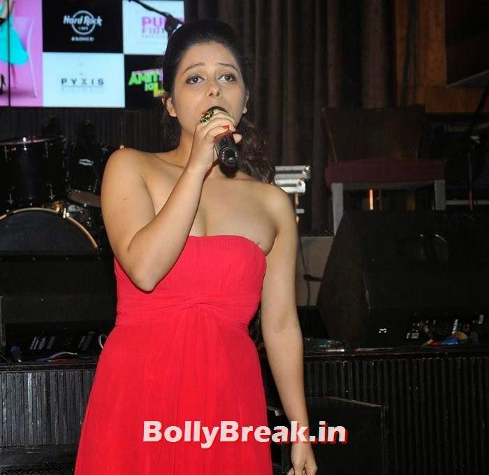 Shivangi R Kashyap, Vir Das, Anindita Nayar, Shivangi R Kashyap at 'Amit Sahni Ki List' Music Launch