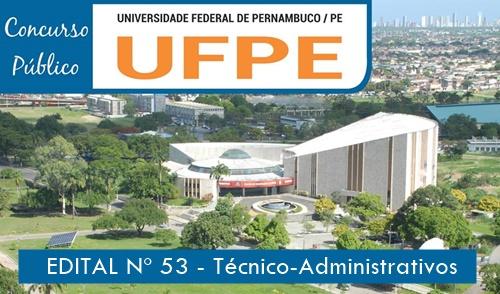 Concurso UFPE - Apostila da Universidade Federal de Pernambuco 2019