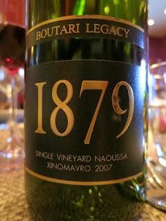 Boutari 1879 Legacy 2007 (92 pts)