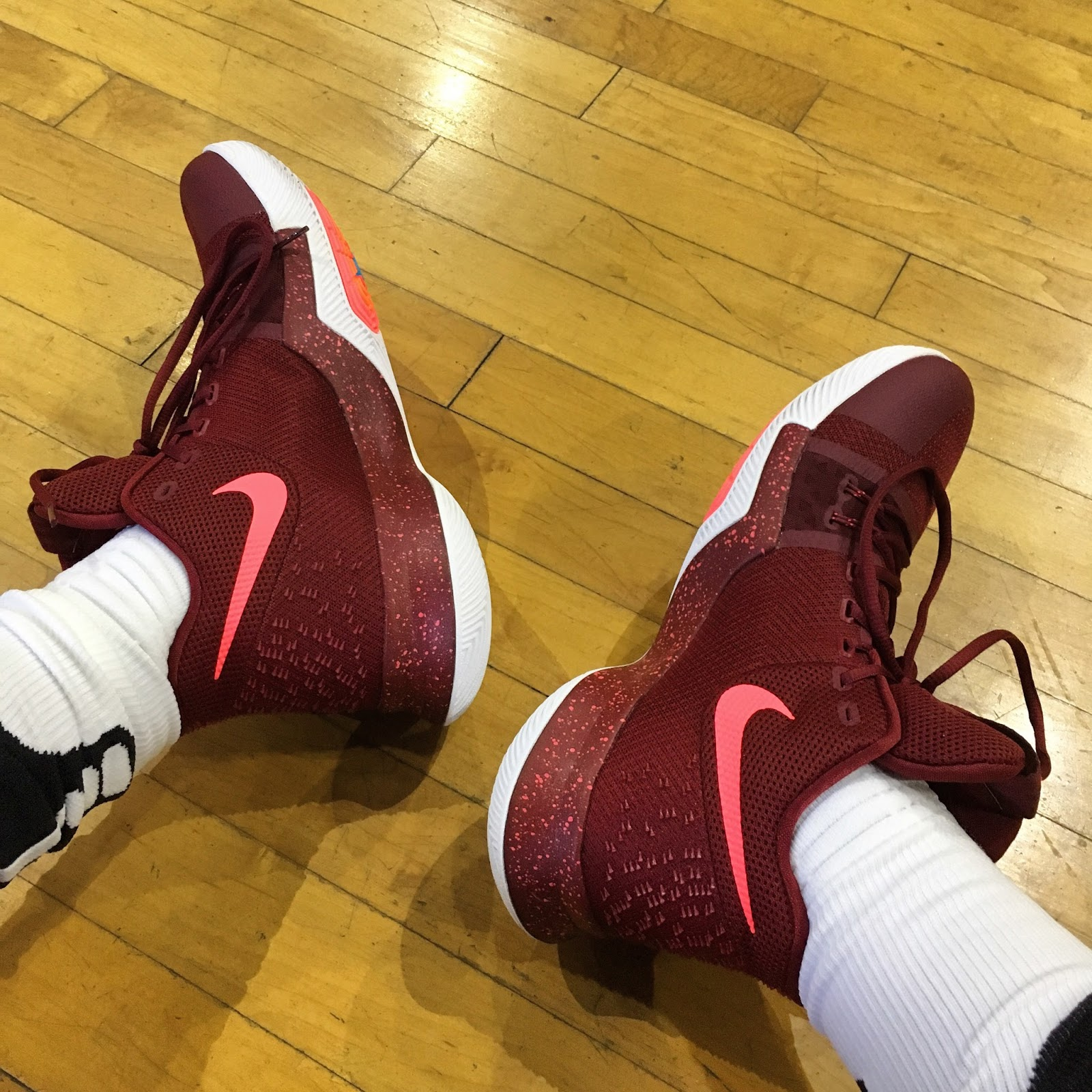 10b20fe69d97 Nike Kyrie 3 Training Sessions  Day One