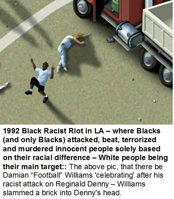 Violent Crimes: Black On White & White On Black: Black Violence