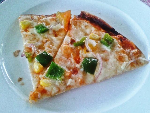 Cajun spiced pizza