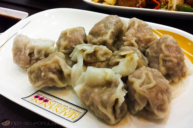 Pork Dumplings of Hainanese Delights in Robinsons Manila