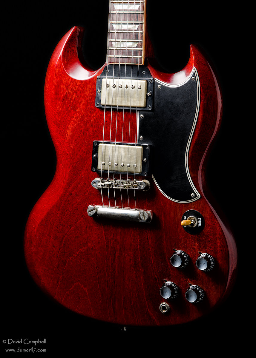 Gibson SG: Standard '61 reissue or Custom Shop? | The Gear Page