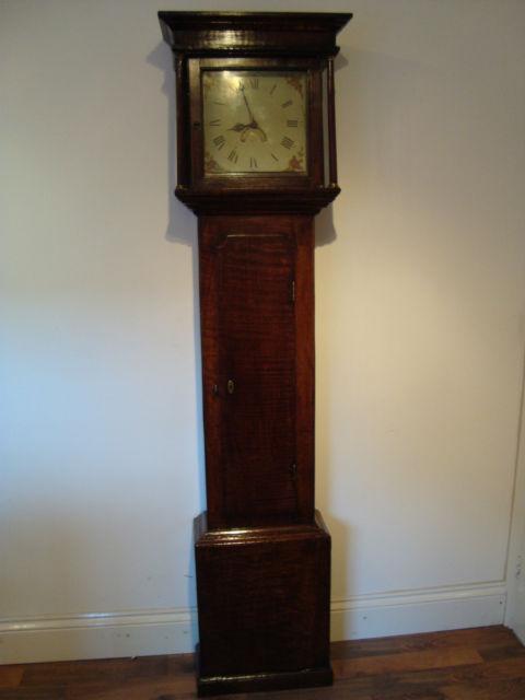 Antique Clocks Antique Early Victorian Oak Longcase