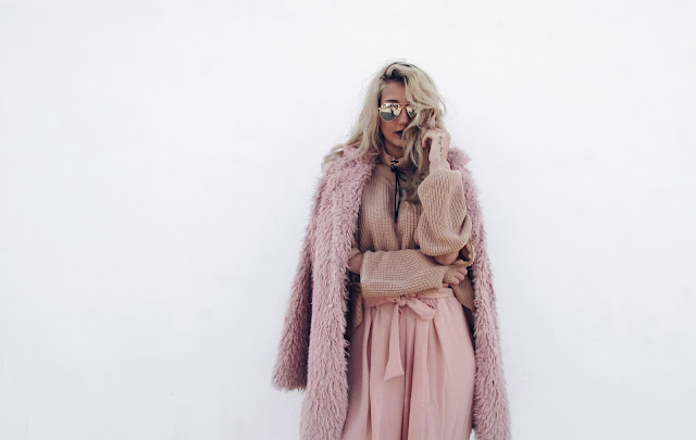total pink outfit ideas