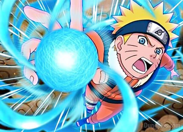 Naruto lần đầu tiên sử dụng Rasegan