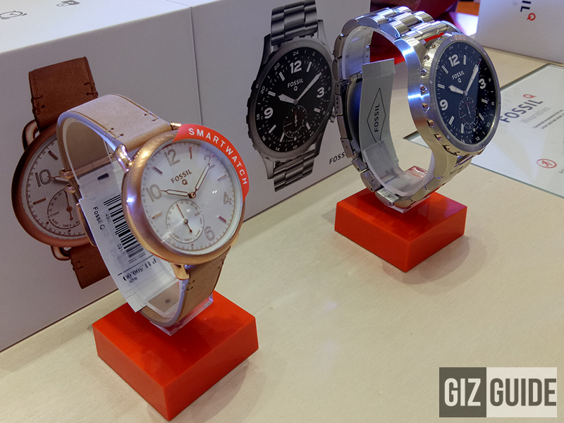 Fossil's hybrid watches