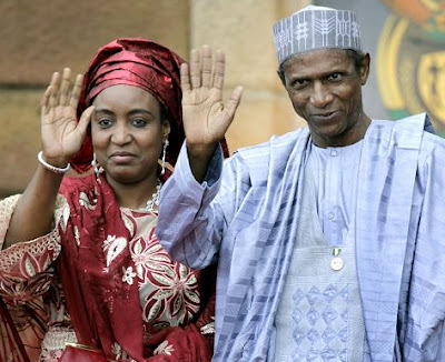 yaradua wife police arrest domestic servant