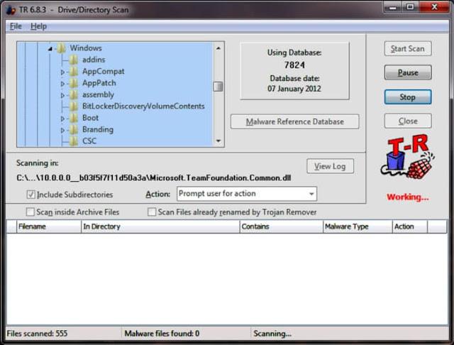 برنامج مسح التروجان للكمبيوتر Trojan Remover مجانا