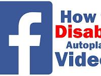 Cara Mematikan Autoplay Video diFacebook