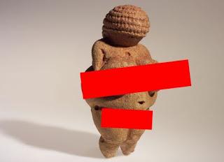 Sensor Foto Venus of Willendorf, Facebook Dikecam