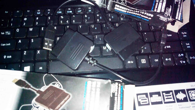 Sambungan stik ps2 ke laptop pc ps3 murah