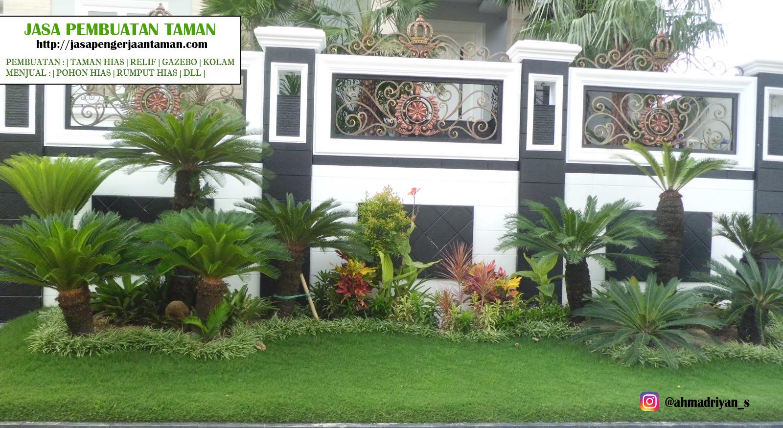 Jasa Desain Taman Depan Rumah Destaman