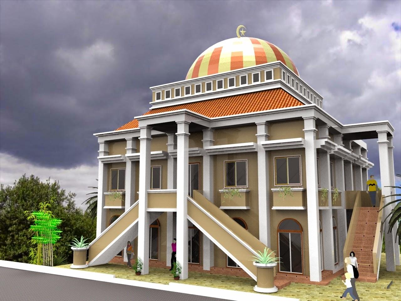 Masjid Animasi 3d Nusagates