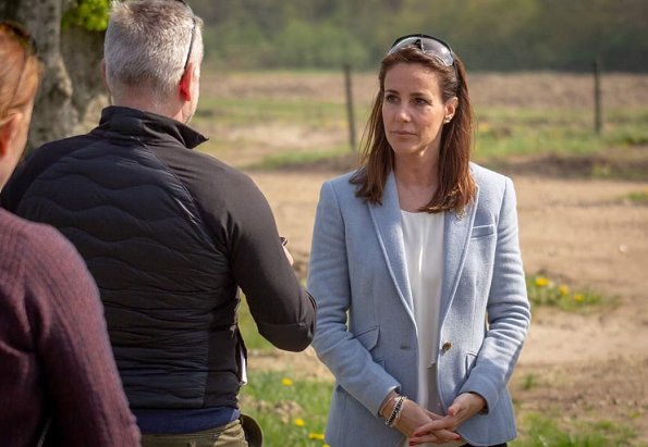 Princess Marie wore Ralph Lauren Drosom jacket