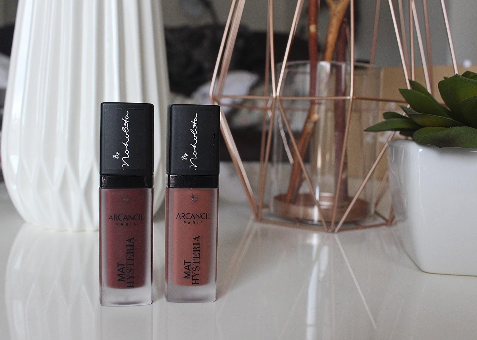 Connu Mat Hystéria d'Arcancil│Les rouge à lèvres liquides au top  DL42