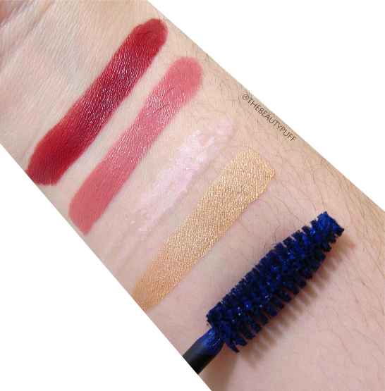 merle norman cosmetics swatches - the beauty puff