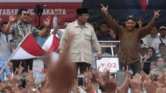 Prabowo Emosi Saat Kampanye