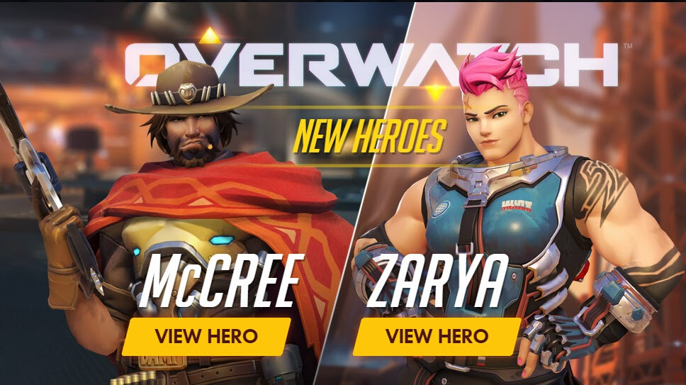 Overwatch McCREE Zarya