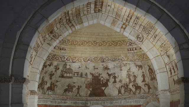 Rape and war mural in 13th century Spanish church baffles historians