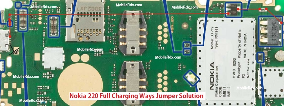 This post i will share with you Nokia 220 Charging Ways Solution. after follow this image you can solve your nokia 220 charging problem.