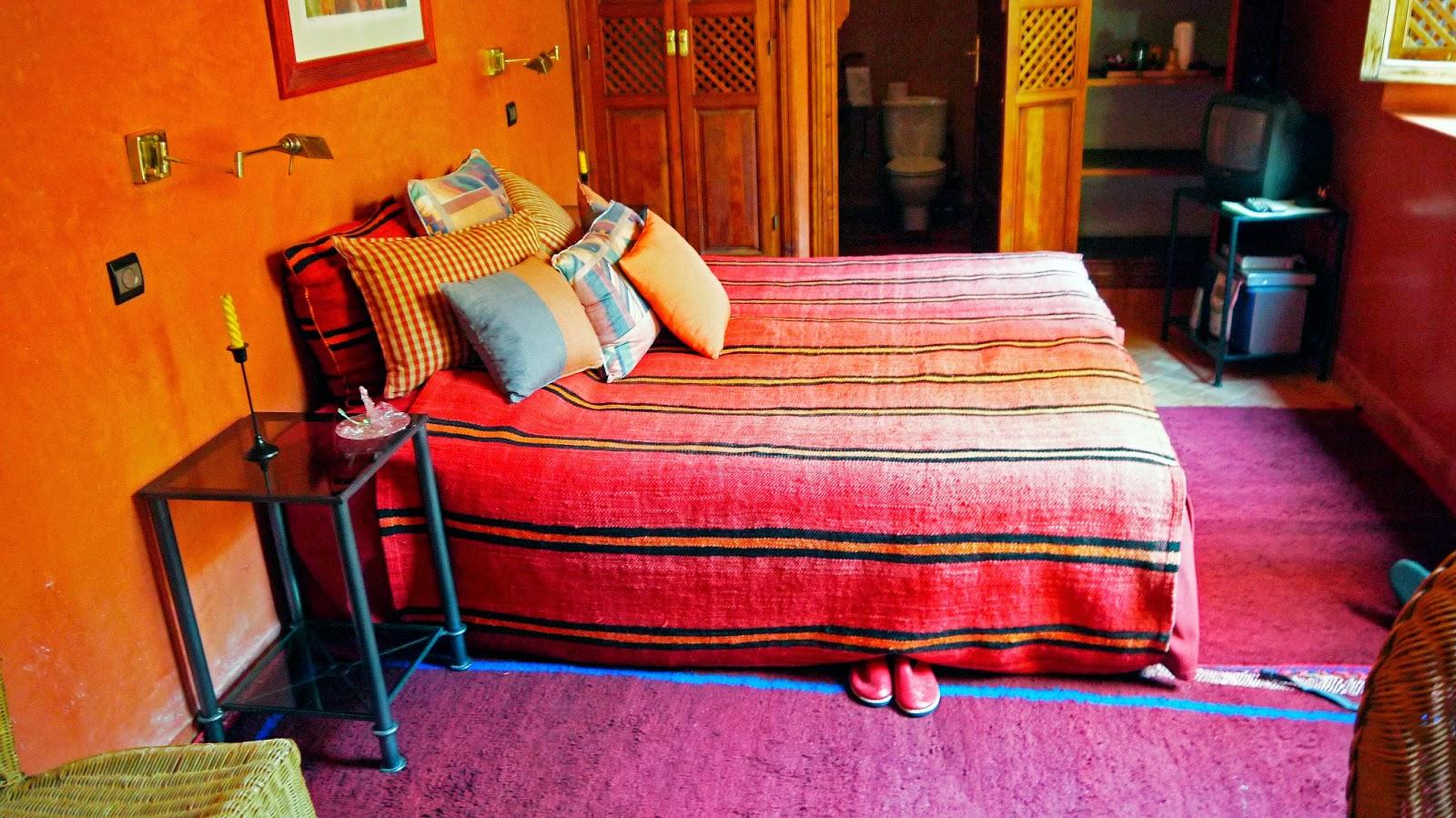 Bed in Riad Noga Marrakesh