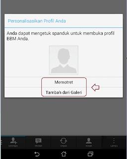 buat profil BBM