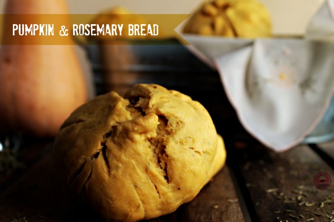 pumpkin rosemary breadbakers